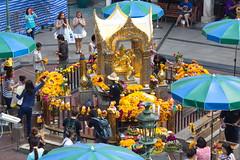Famous Erawan shrine in Bangkok