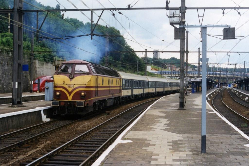 CFL 1819 te Liège Guillemins op 14-7-1998 (SCAN)