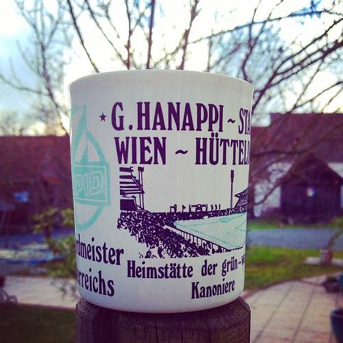 Lieblingshäferl #igersvienna #igersaustria #kaffee #rapidw ...
