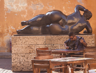 La Gordita Statue in Cartagena, Colombia | by ChrisGoldNY