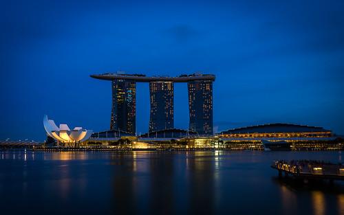 sunset marina singapore sony bluehour alpha msb marinabay marinabaysands 1018mm a6000 sel1018 ilce6000 johnnguyen0297