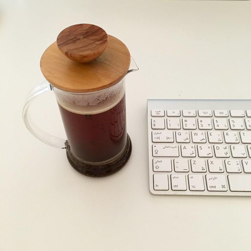 القهوة بالطريقة الفرنسية