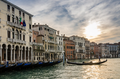 italien venice italy house water clouds sunrise canal wasser italia day cloudy haus gondola kanal venezia sonnenaufgang venedig housefront canalgrande gondeln