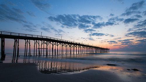 sunrise northcarolina coastal carolinabeach fishingpier 2016 landscapephotography canonef1740f4l carolinabeachfishingpier trphotostudio nikcollectionbygoogle travisrhoadsphotography copyright2016 metaboneseftoeivt sonyilce7rm2a7rii