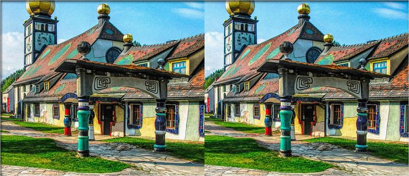 St. Barbara Church - xview 3D