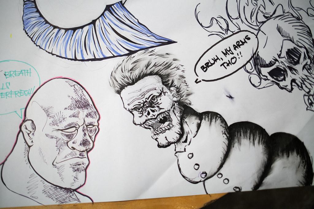 Draw By Night #43 (Jan