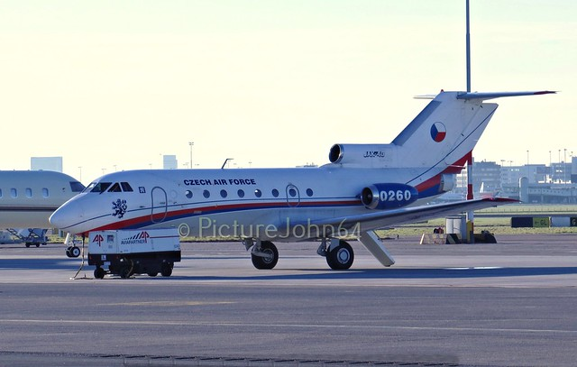 Czech Air Force Yakovlev Yak40 (0260) at Schiphol East