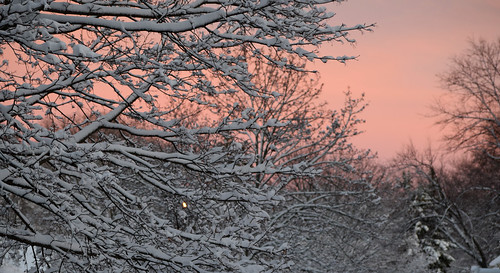 sunset massachusetts snowstorm newengland worcester winter20152016