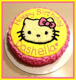 Hello Kitty cake by Christine, Linn County, IA, www.birthdaycakes4free.com | by Birthday Cakes 4 Free