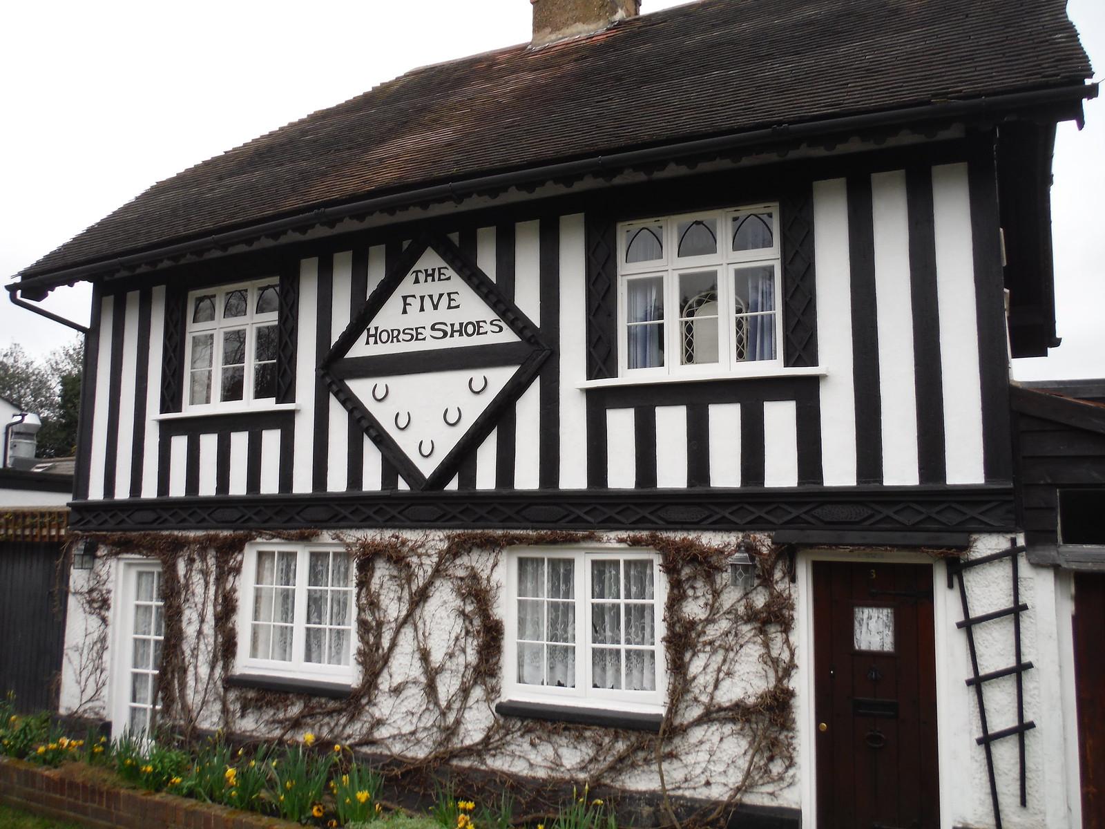 House in Brickendon SWC Walk 168 Broxbourne Circular (Bayford Ending)