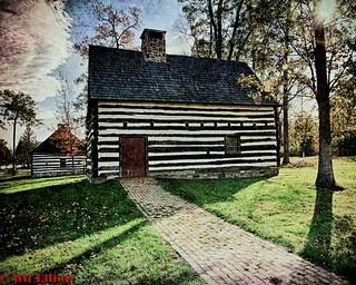 Zeisloff Log Cabin, Lehigh Valley, Pa