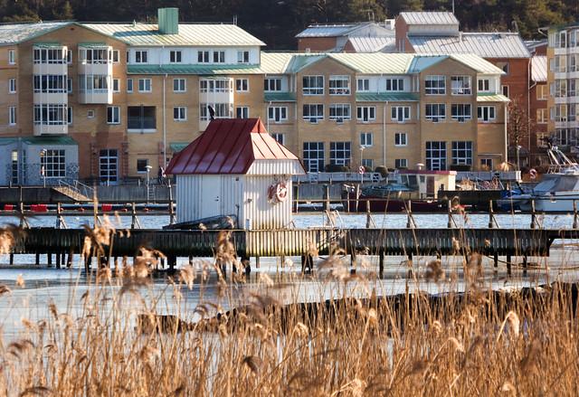 Boathouse in Stenungsund Harbour
