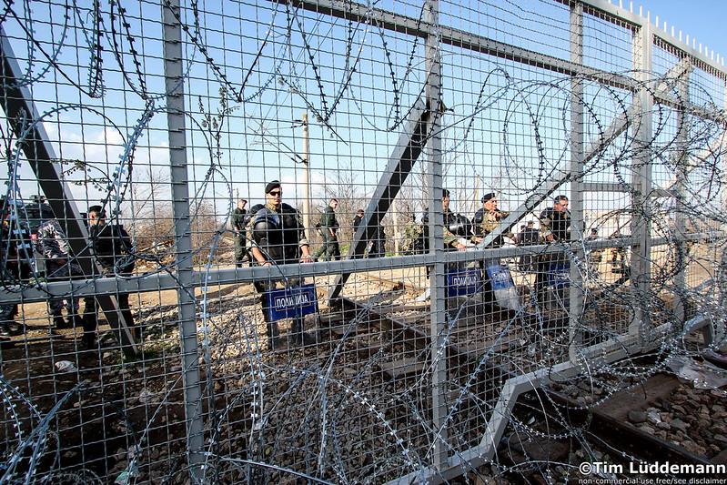 Idomeni: Proteste für Grenzöffnung