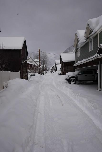 日, 2016-01-31 18:33 - 雪の後のTelluride散歩