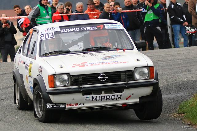 203 - GUILLEMIN François et CHARLOT Patrick - Opel Kadett GTE