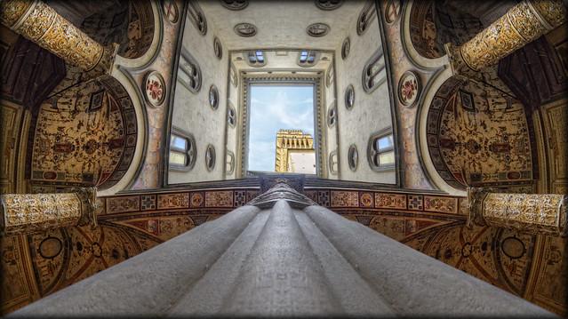 Firenze # 6 ( cortile di Michelozzo, Palazzo Vecchio )