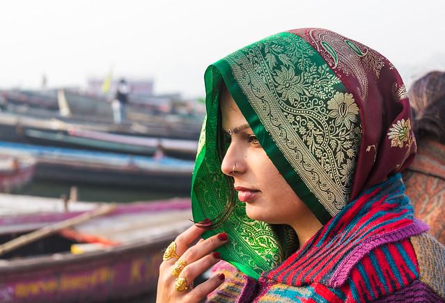 An Indian Woman Portrait | Varanasi,India