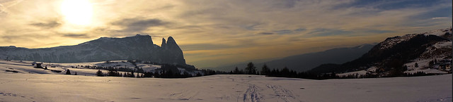 Tramonto in Trentino