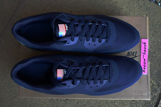 a0996c48 Nike Air Max 90 Hyperfuse QS 'Independence Day - Midnight Navy' (613841 440  ...