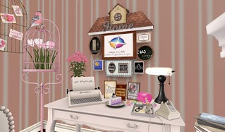Close-up Bedroom Desk (H&G Expo 2016) | by Hidden Gems in Second Life (Interior Designer)