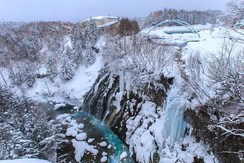 japan 北海道 日本 雪 6d 美瑛 青池 hokkaidō ef1635mm kamikawagun 白金溫泉 道北 白ひげの滝 白鬚瀑布