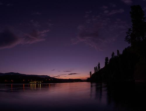 blue sunset panorama nikon dam bulgaria d750 nights 14mm samyang pancharevo