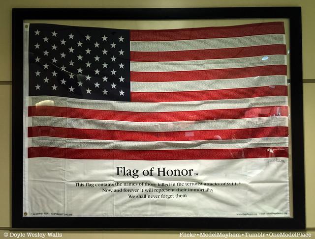 Flag of Honor, TSA, LAX