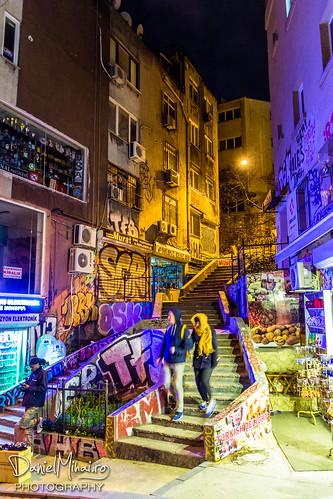 Stairs - Istanbul by Daniel Mihai