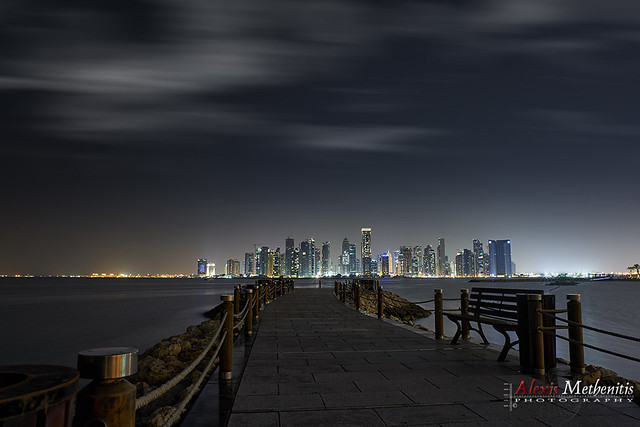 West Bay Night, Doha
