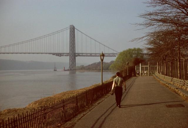 19600400S-b7  George Washington Bridge  c20 Apr 1960