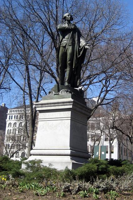 NYC - Union Square: Marquis de Lafayette statue