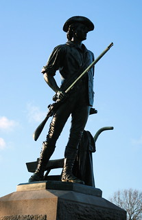 Minuteman Statue by Daniel Chester French   by Muffet