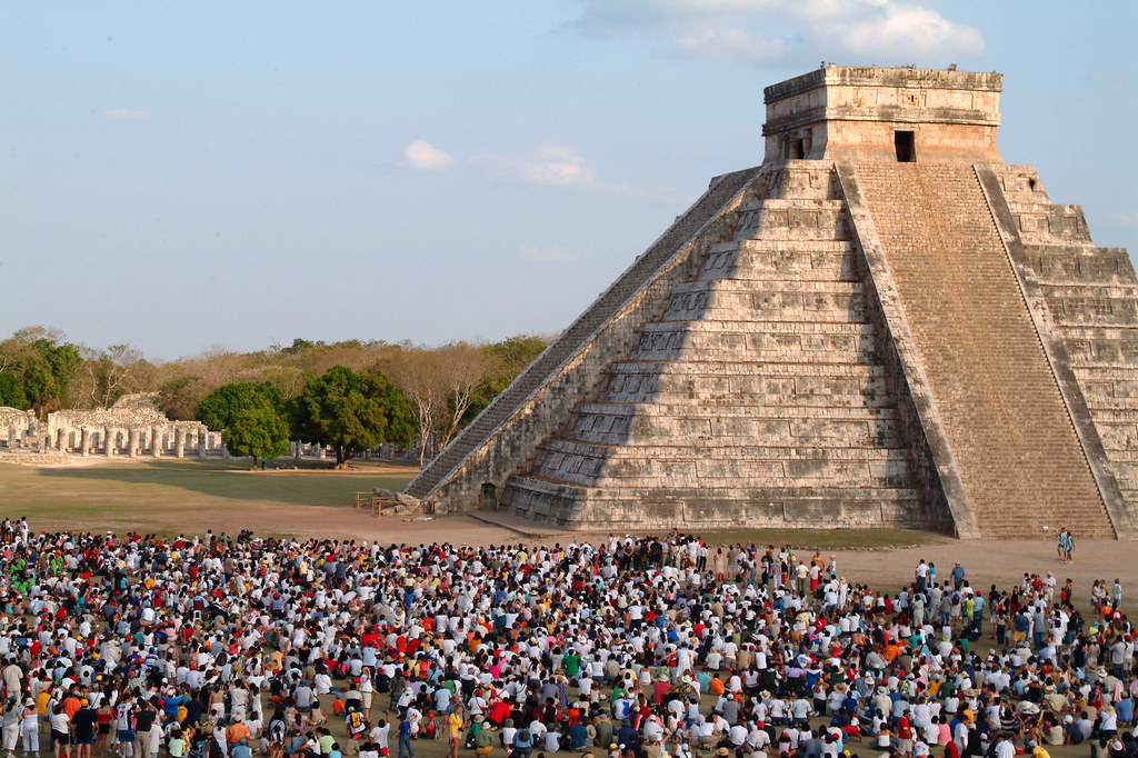 El Castillo at Spring Equinox