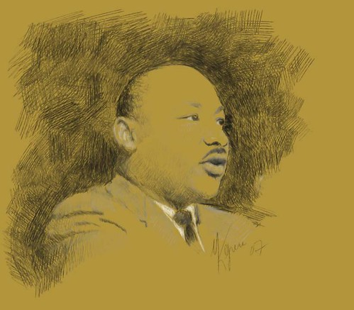 Martin Luther King Jr. | by medium as muse