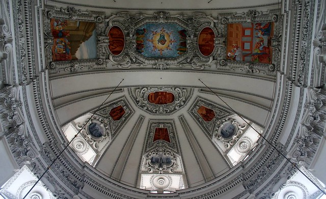 Dome in Salzburg Cathedral, Austria
