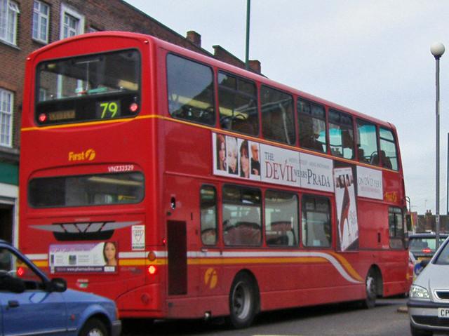79 Bus In Preston Road David Howard Flickr