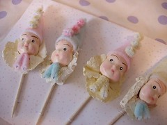cupcake picks | by redshoesllc
