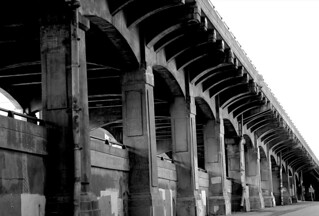 Viaduct NW - BW | by ChrisM70