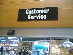 Central Market customer service.