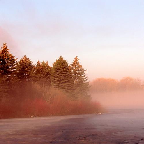 lake fog sunrise bravo loafers abigfave