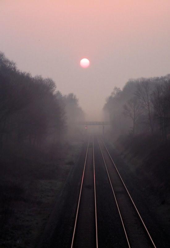 Dawn Mist on the Chiltern Line