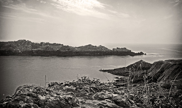 la pointe du grouin en monochrome