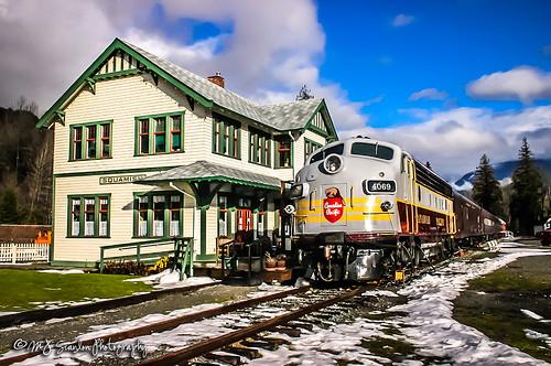 CP 4069 | GMD FP7 | West Coast Railway Heritage Park