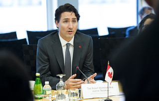 Canadian Prime Minister Justin Trudeau | by World Bank Photo Collection