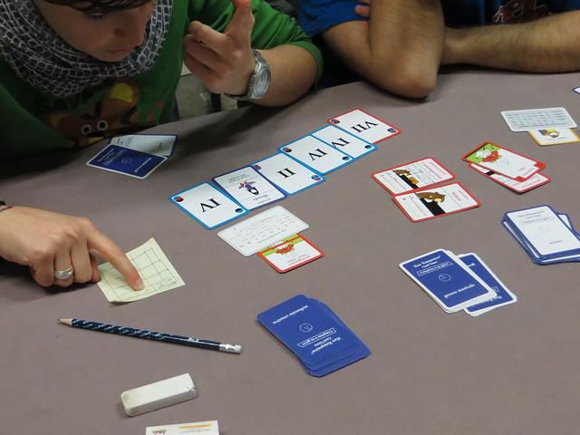 """2016 - Stratagemma Firenze - Dimostrazione di Herr Kompositor card game """"Comporre è un gioco"""""""