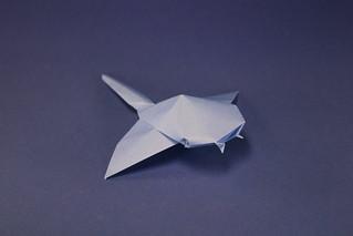 Ángel Morollón - Manta Ray   by origami_8