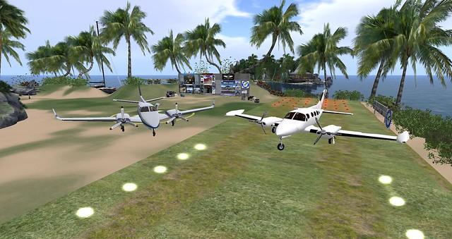 My New Kousara's Charters BC Duke. and My Retired Cessna 421