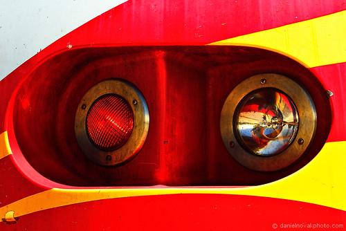 railroad red usa newmexico santafe yellow closeup train happy colorful industrial unitedstates bright railway roadtrip transportation express nm warmcolors 2013 railrunner nmrx etbtsy