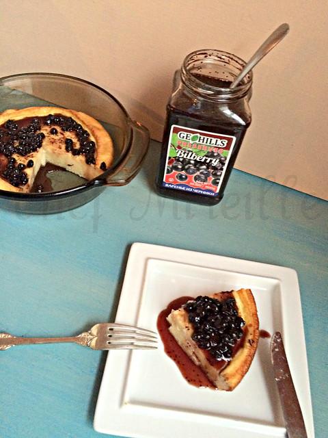 Bilberry Pancake -edit