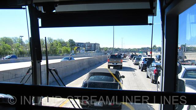 Greyhound I-25 Southbound Denver